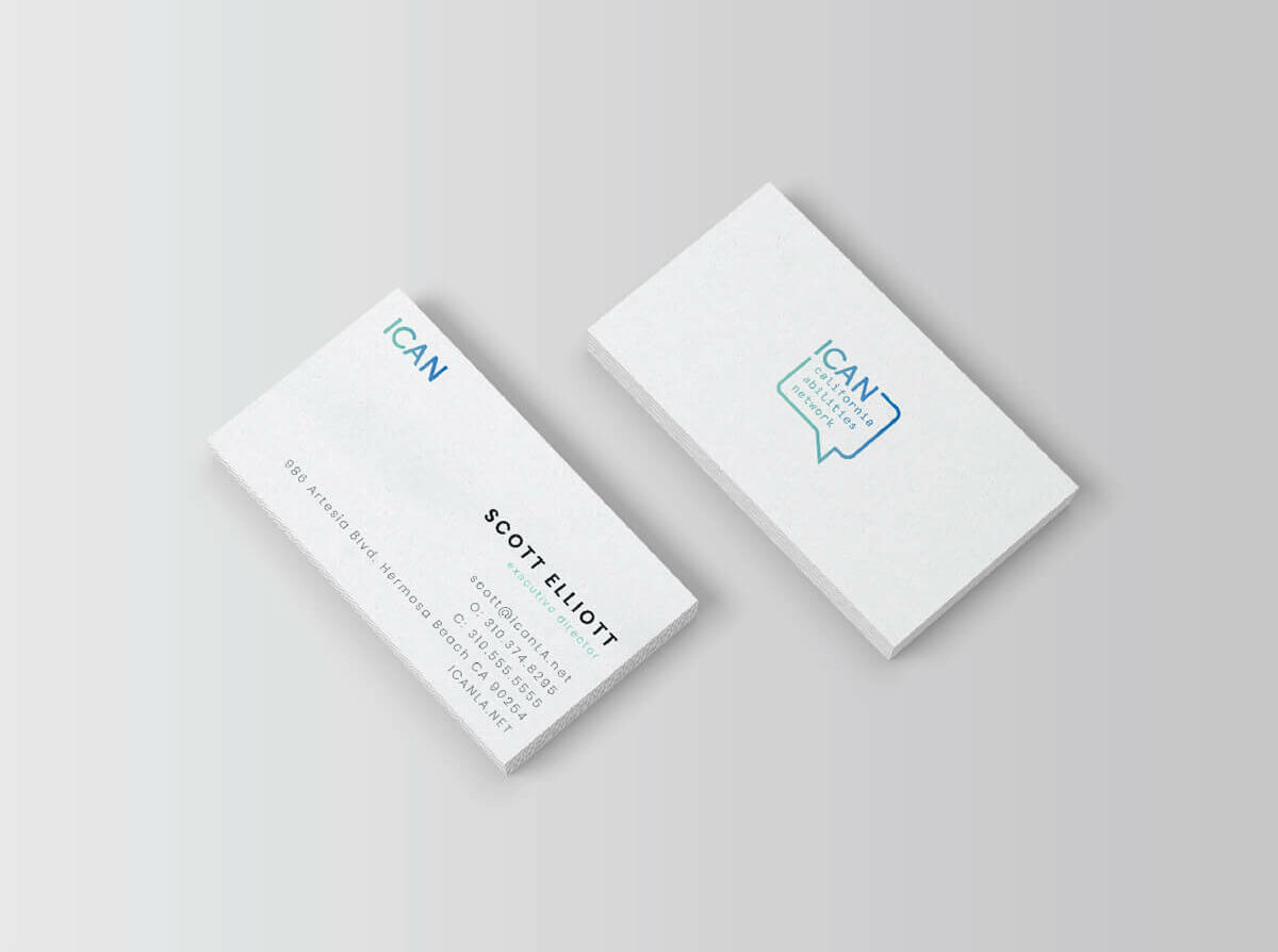 ICAN Business Cards