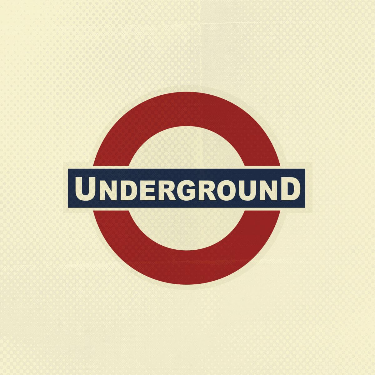 Logo Design and Branding by Stellen Design Hermosa Beach for Underground Pub