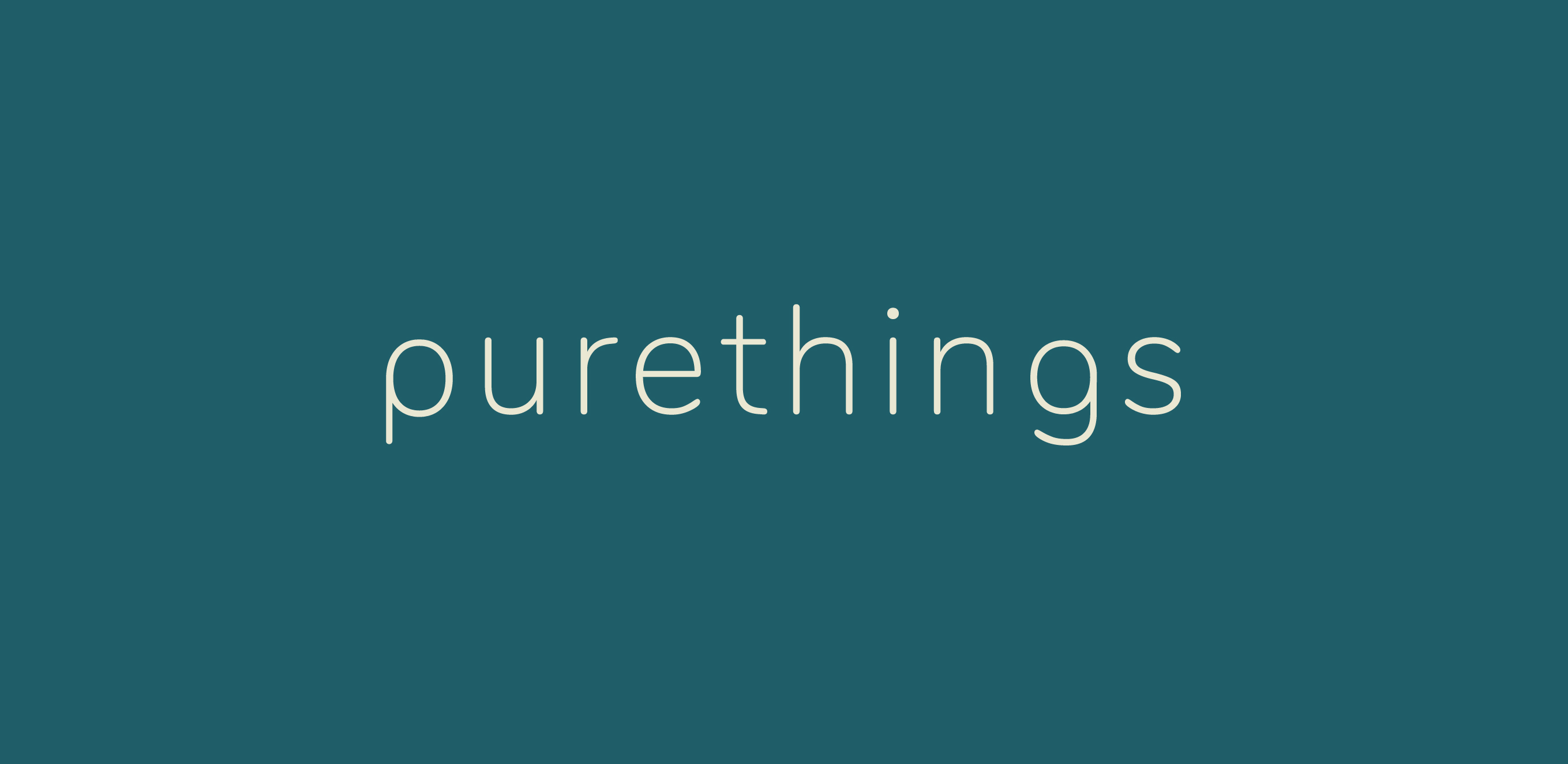 Purethings Word Mark Logo