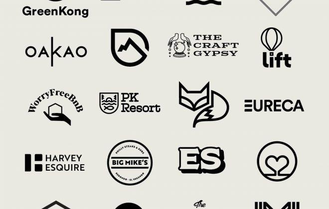 Logo Designs by Stellen Design Graphic Design and Branding Studio in Los Angeles California specializing in boutique branding