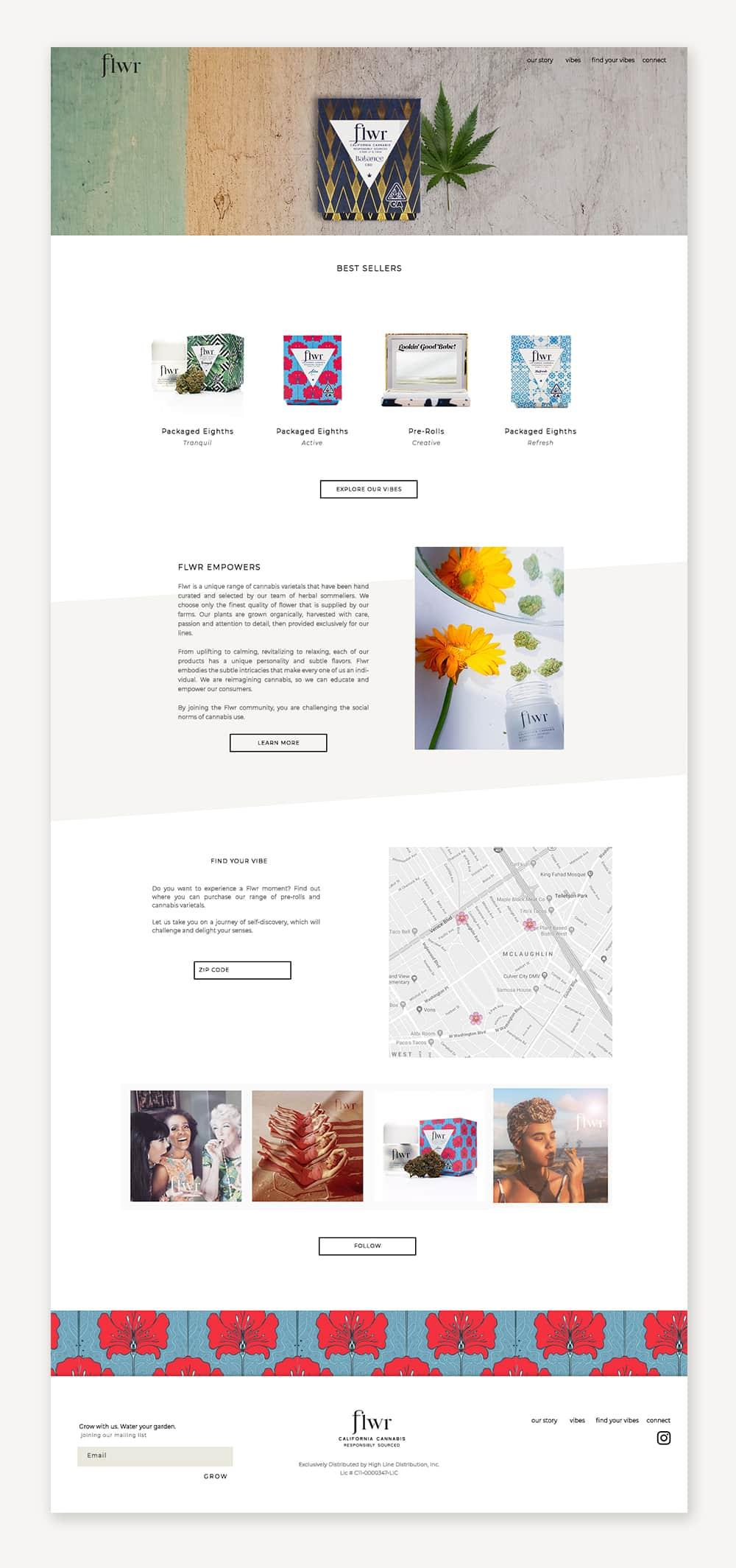 FLWR_Website_Design