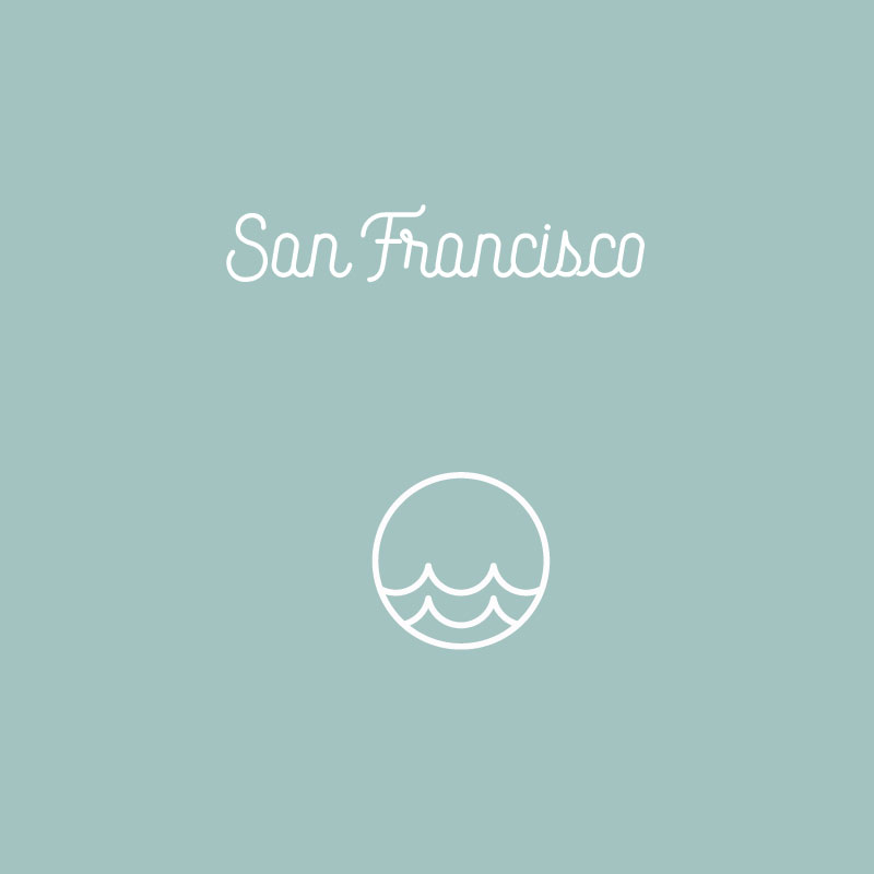 San Francisco Icon By Stellen Design