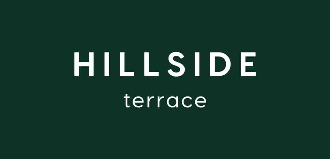 Hillside Terrace Word Mark Logo