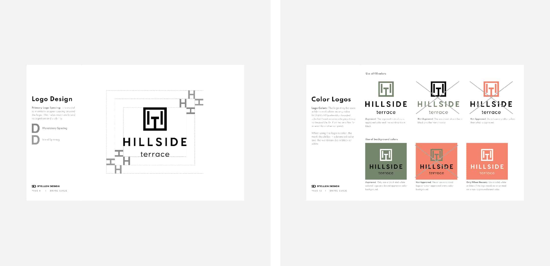 Brand Guide For Hillside Terrace