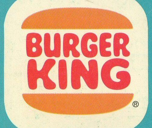Vintage Burger King Logo on Stellen Designs Hungry Colors Blog Post
