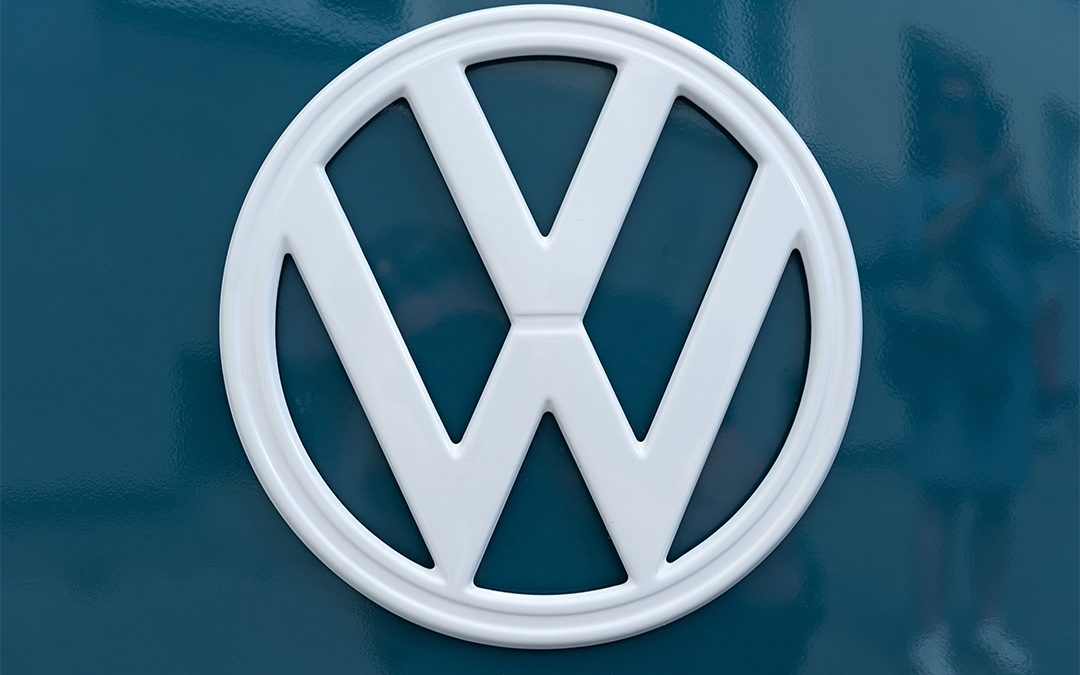 VW logo referenced as a quality logo on top 3 qualities for a logo on blog by Stellen Design Graphic Design and Branding Agency in Los Angeles