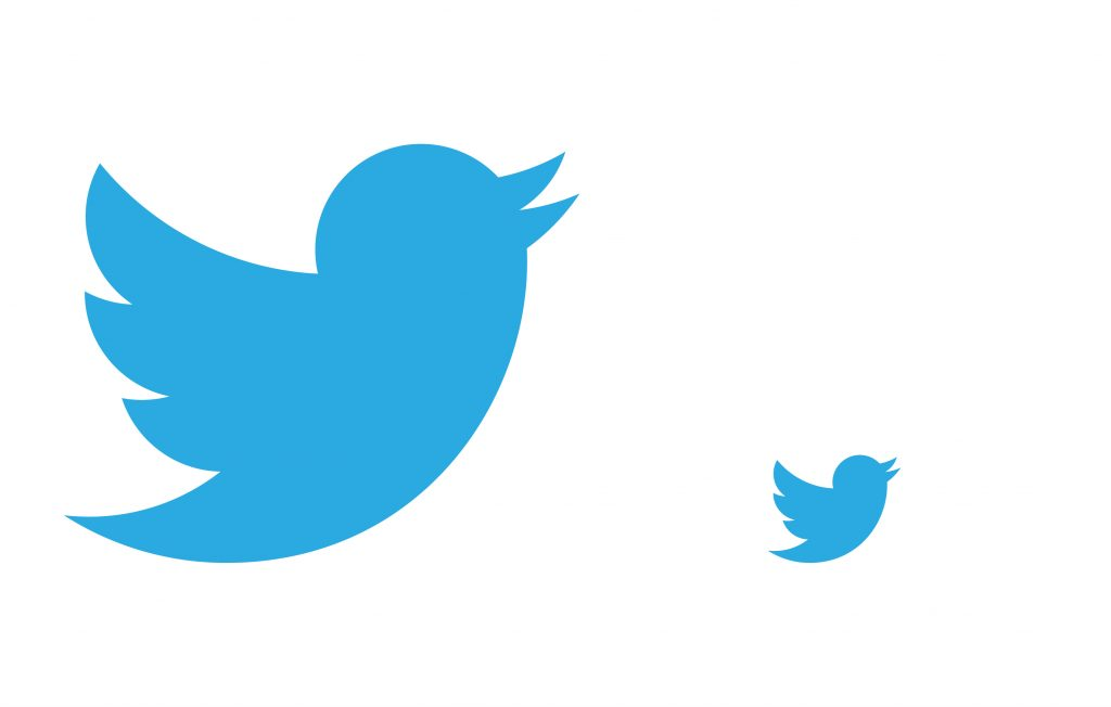 Twitters Logo Being Used to show scale on Logo Designs that Scale an article by Stellen Design branding agency in Los Angeles CA