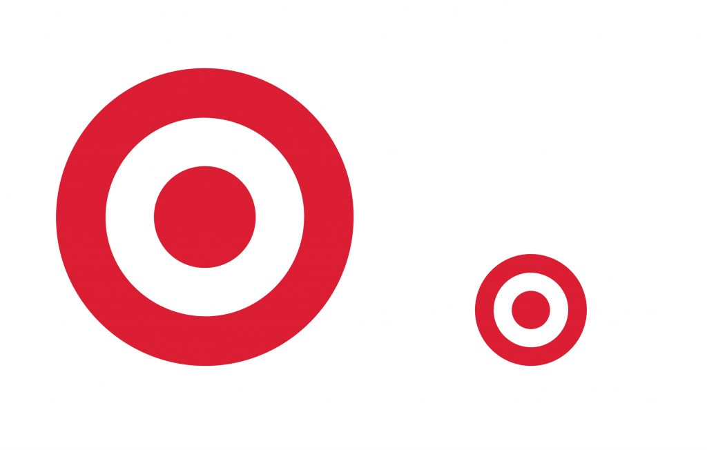 Target Logo Being Used to show scale on Logo Designs that Scale an article by Stellen Design branding agency in Los Angeles CA