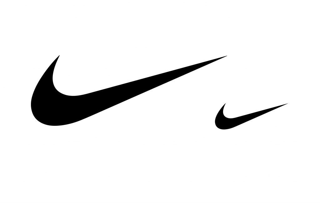 Nike Logo Being Used to show scale on Logo Designs that Scale an article by Stellen Design branding agency in Los Angeles CA