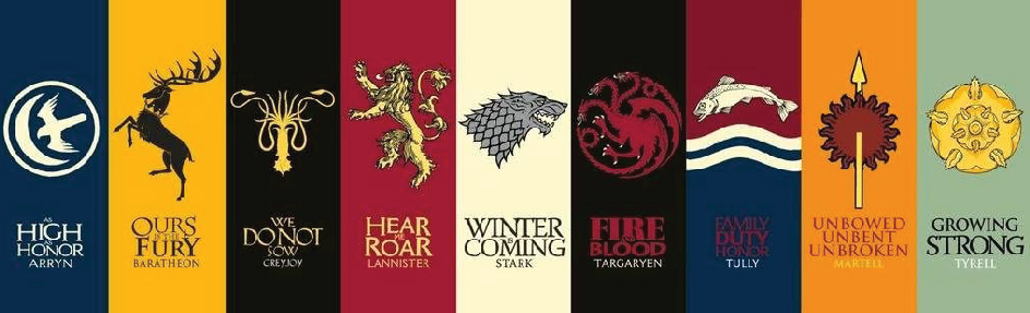 Game of Thrones House Sigils as Logo Designs on What is Logo Design by Stellen Design Branding Agency in Los Angeles