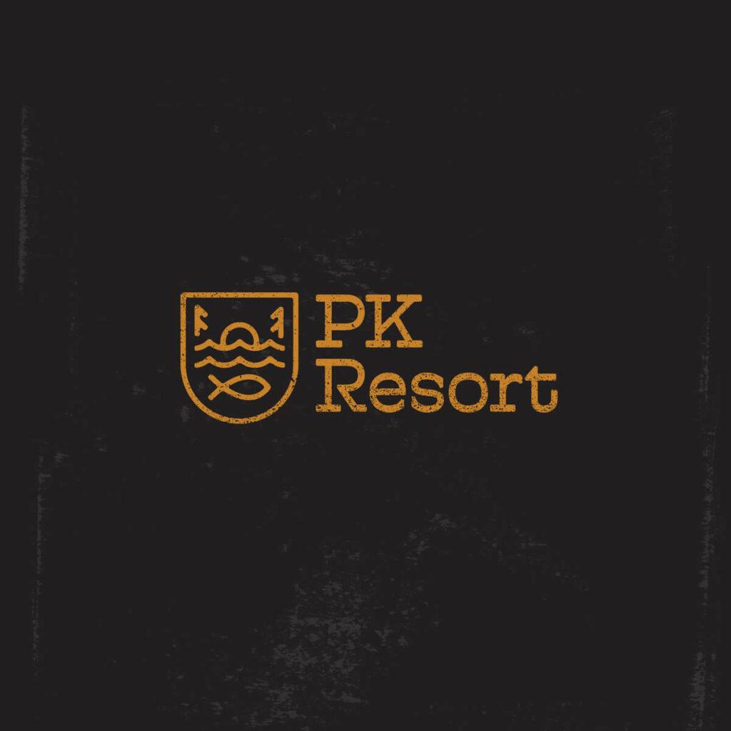 PK Resort Logo Design