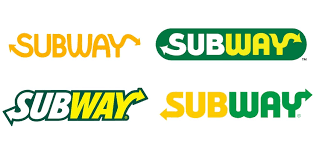 Subway logos over time featured on Stellen Design Branding Agency Blog on The Difference Between Brand and Logo
