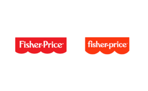 Stellen Design Branding Agency in Los Angeles Article based on successful rebrands highlighting the fisher-price logo