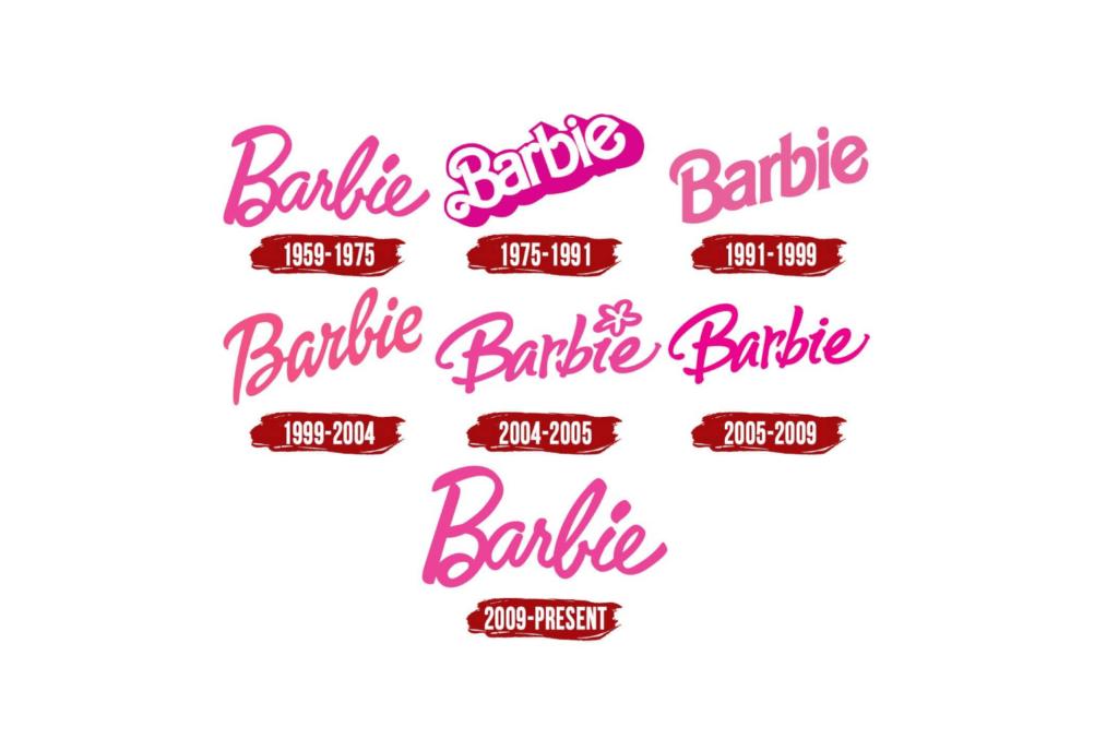 Stellen Design Branding Agency in Los Angeles Article based on successful rebrands highlighting the Barbie Logo